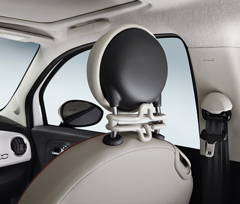 Funktionel Fiat 500 accessories